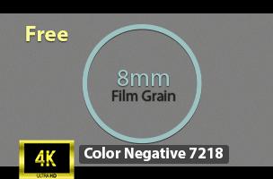 4k Film Grain Overlay - Cinematic Film Gain Texture  16mm