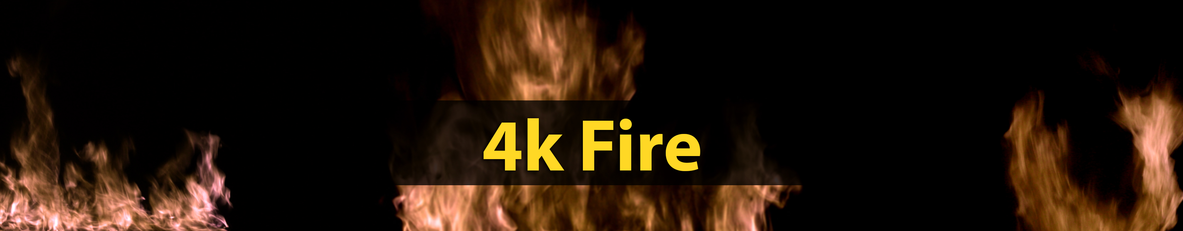 header image for the product page offering downloadable, 4k fire, green screened stock video