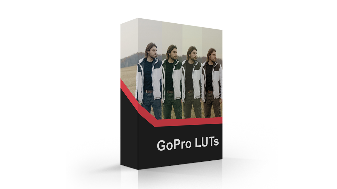 GoPro LUTs - Color Grading Presets for Gopro camers shooting